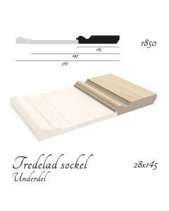 Sockel Tredelad (underdel)